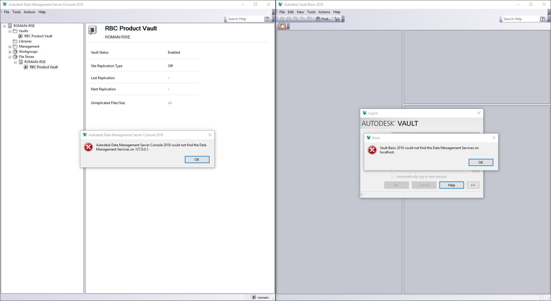 Vault broken after Windows 10 update? - Autodesk Community- Vault