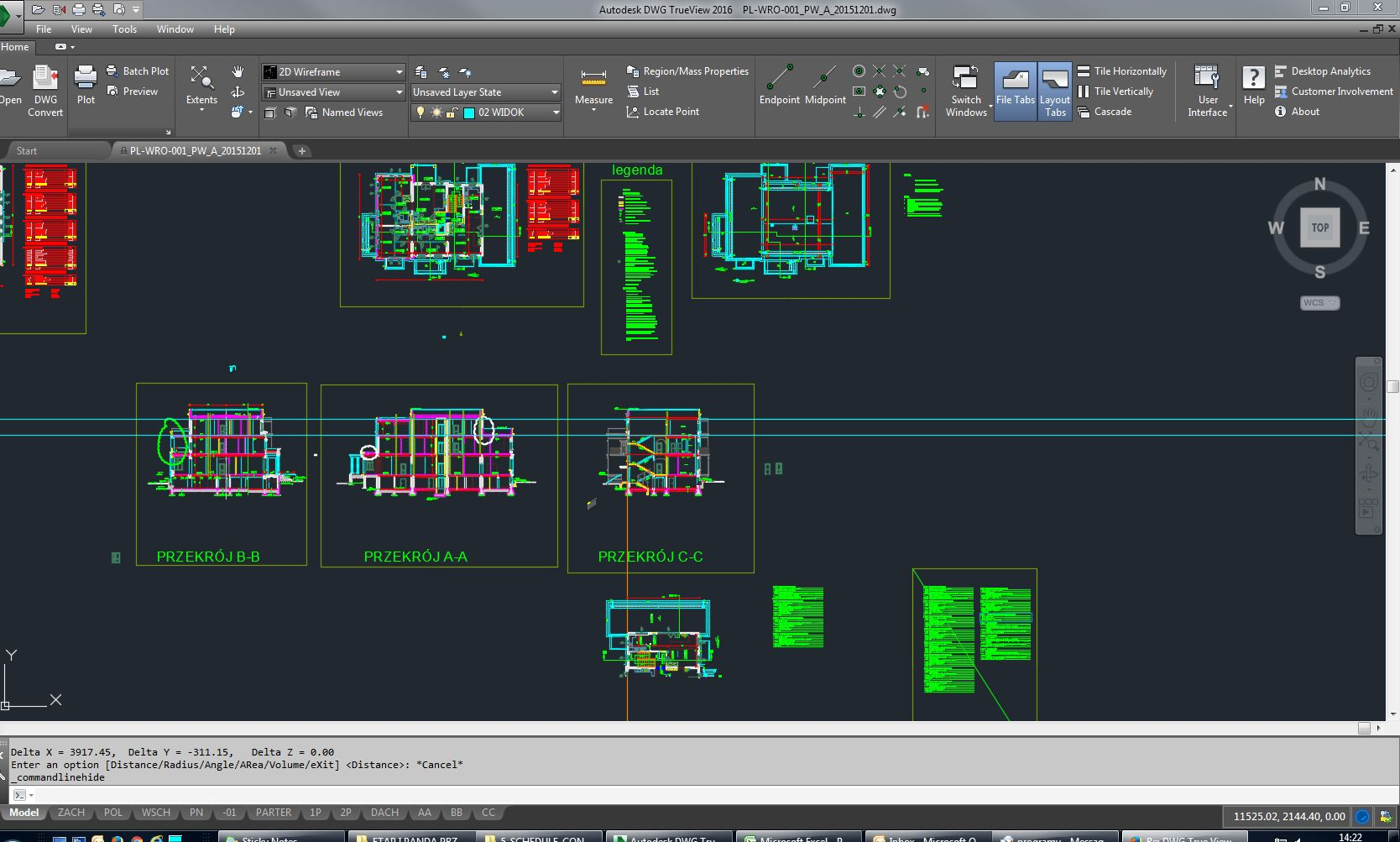 DWG True View 2016 - measurements on the screen - Autodesk