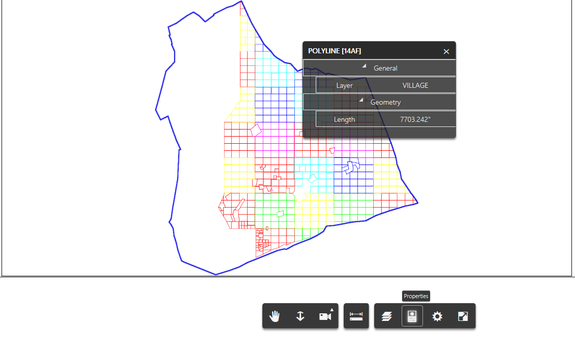 Bim360 API to read user created attributes of polygon in dwg