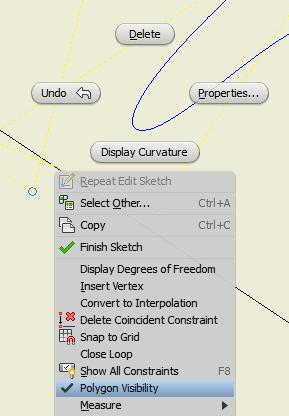 Turning off SketchControlPointSpline Polygon Visibility in API