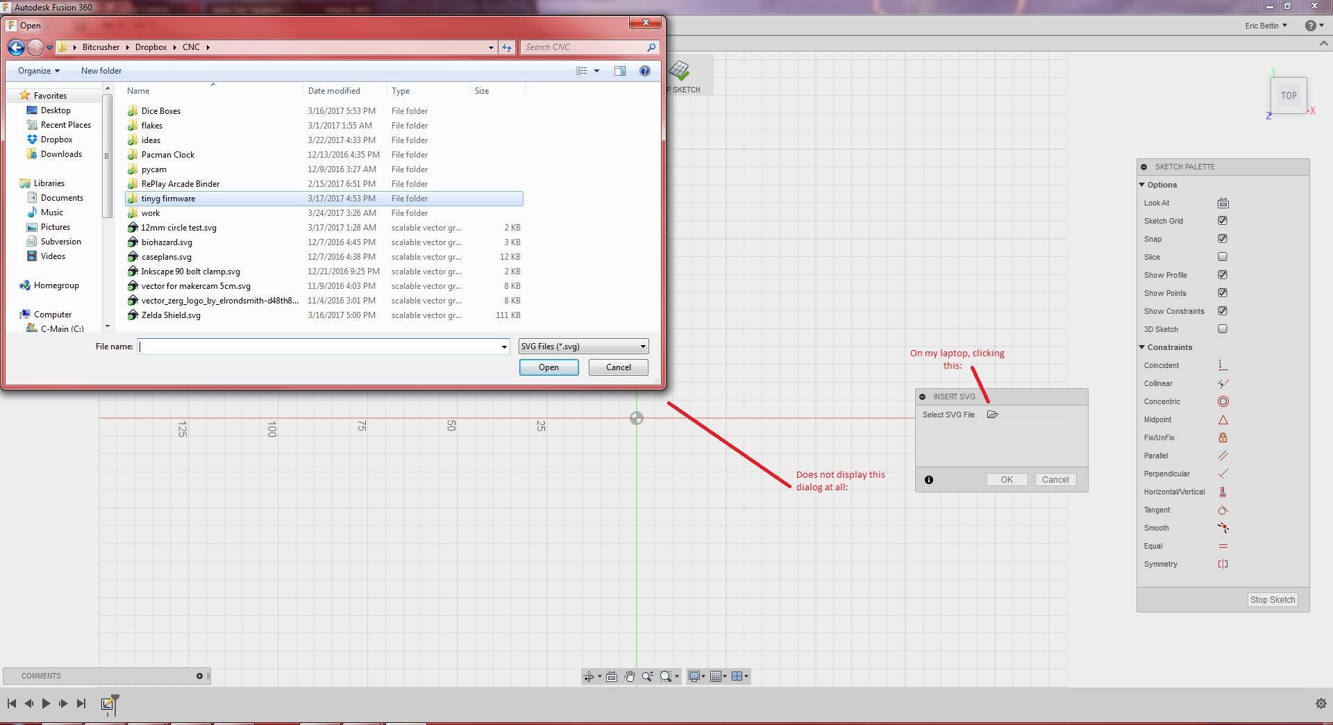 Solved: Bug: Insert SVG causes complete program death
