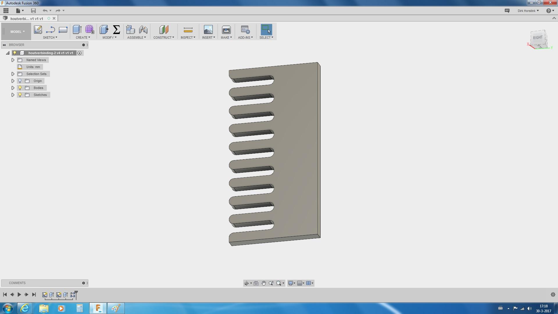 Solved Parametric Pattern Autodesk Community Fusion 360