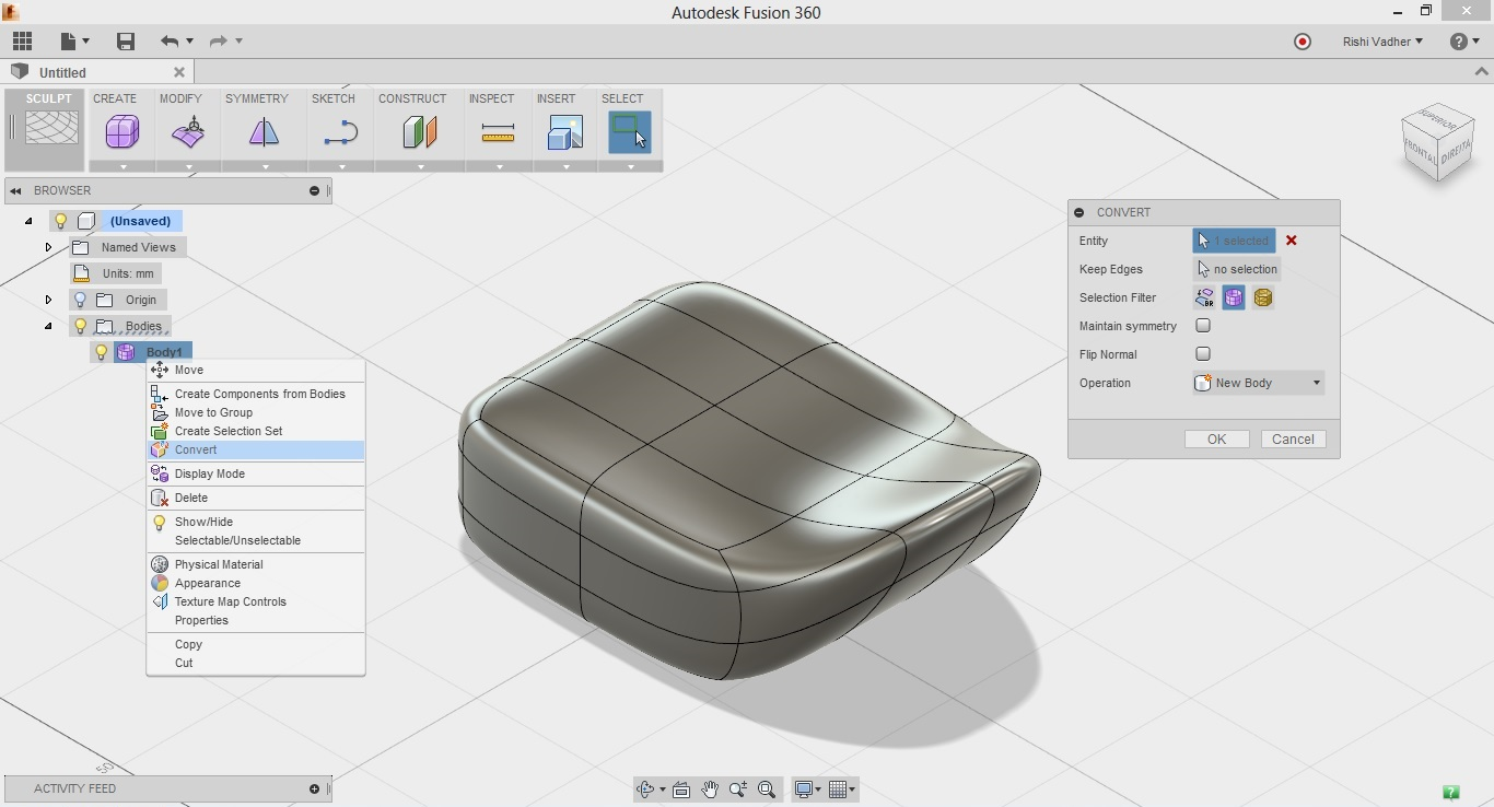Solved: Mesh to BRep   where did it go? - Autodesk Community