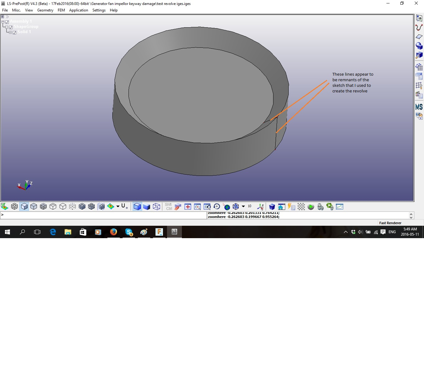 IGES and STEP export to use in LS-Dyna - Autodesk Community- Fusion 360