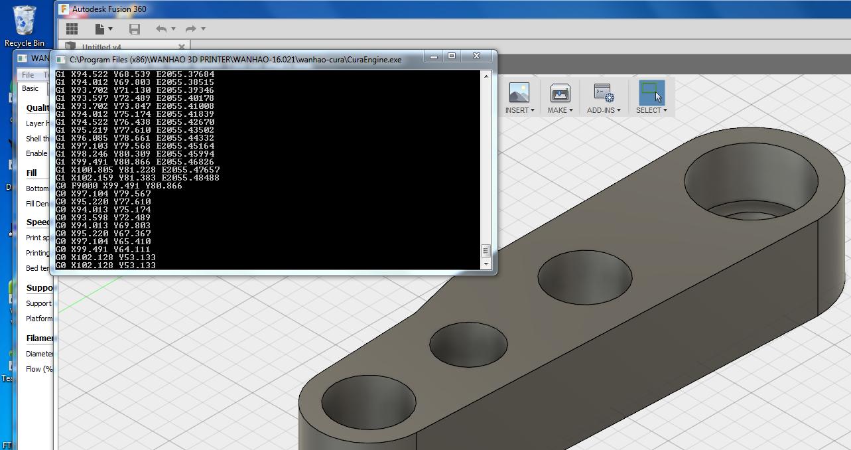 Send 3d print to cura 1 6 - Autodesk Community- Fusion 360