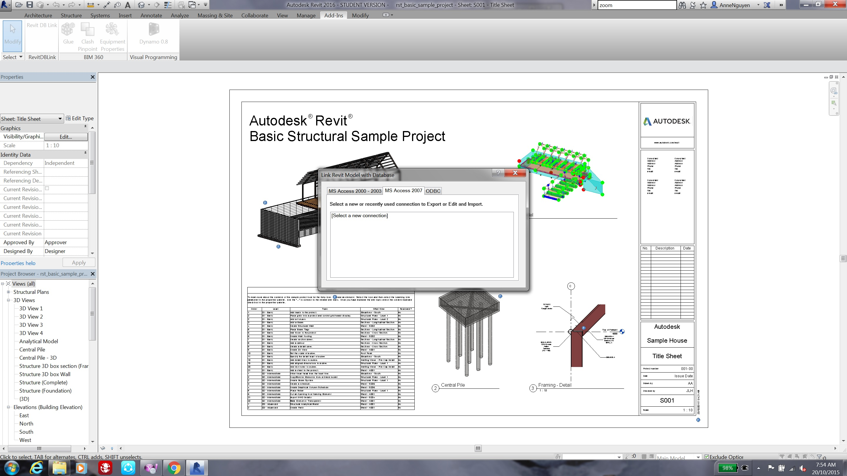 Revit DB Link Form missing all buttons - Autodesk Community