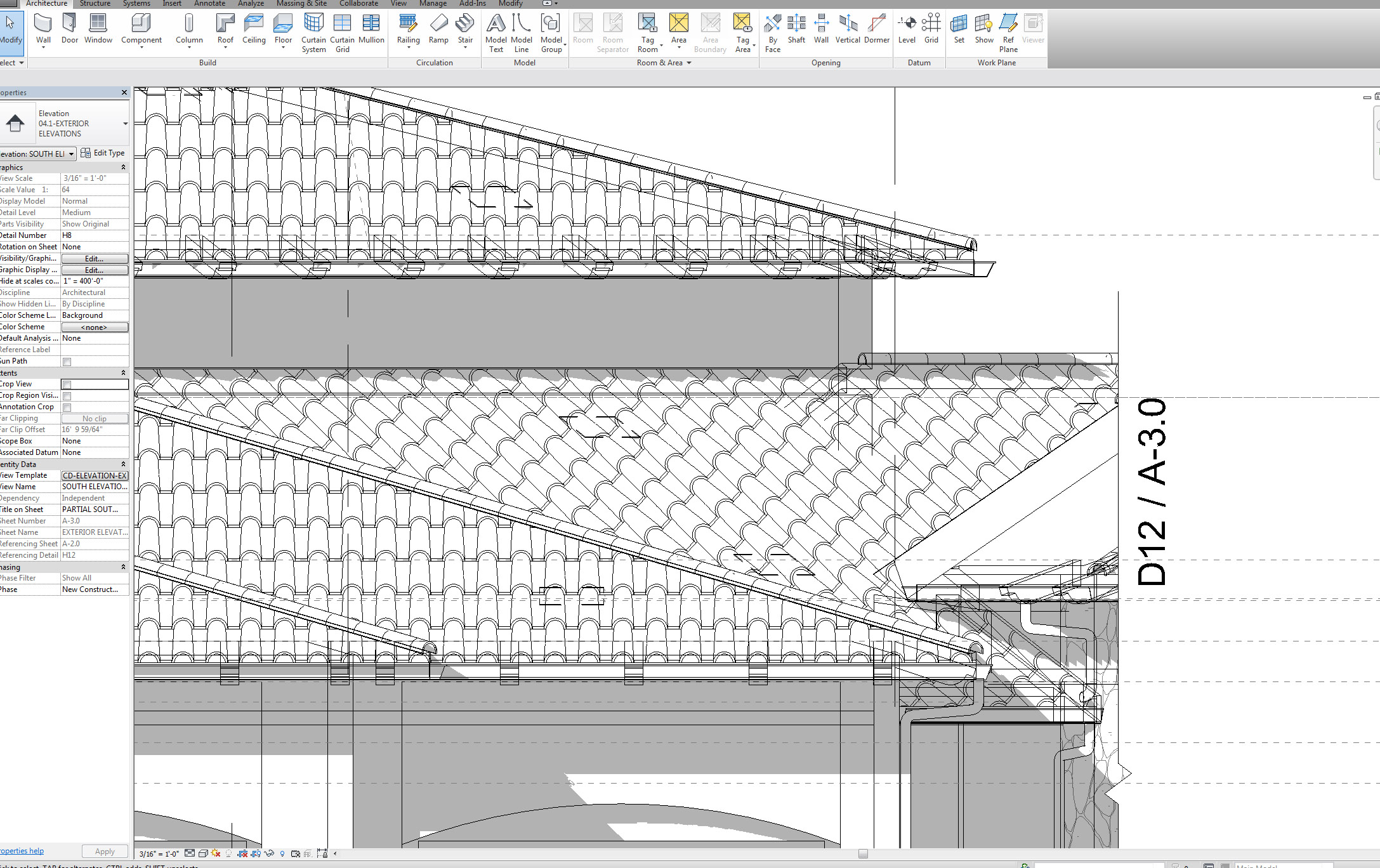 Graphics Issue With Revit Roof Goes To Wf Mode When Uncropping View Autodesk Community Revit Products