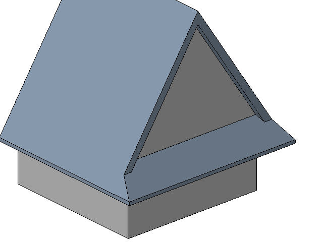 Gable Roof in Revit http://forums.autodesk.com/t5/Autodesk-Revit-Architecture/Thread-ROOF-Corners-TWO-different-Slopes/td-p/1705494