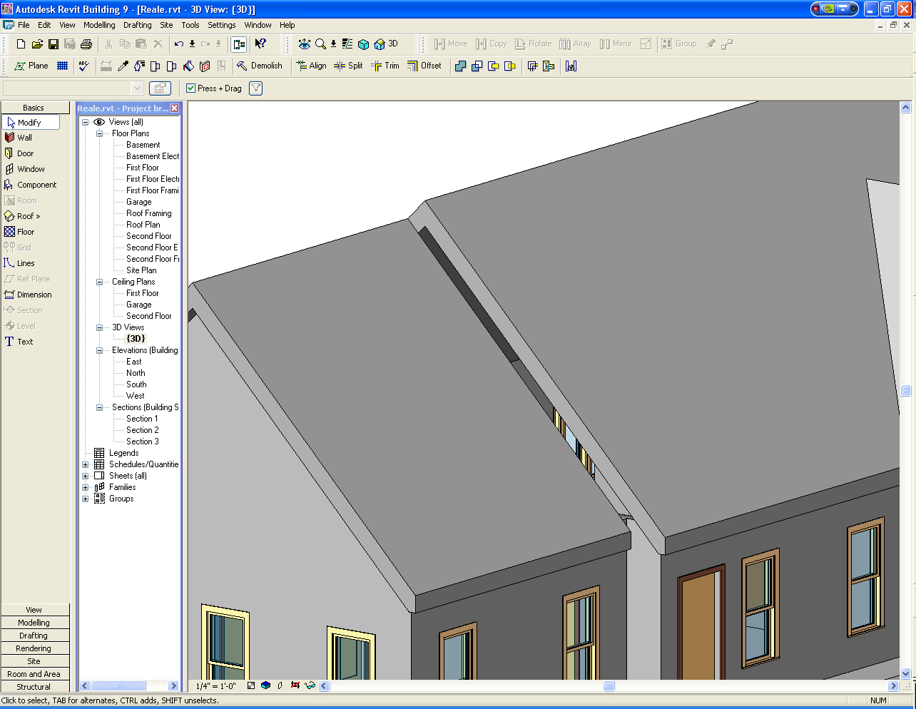 Gable Roof in Revit http://forums.autodesk.com/t5/Autodesk-Revit-Architecture/Gable-wall-above-roof/td-p/1726942