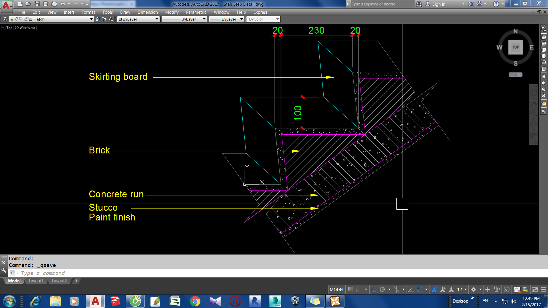 Stair step detail - Autodesk Community- Revit Products