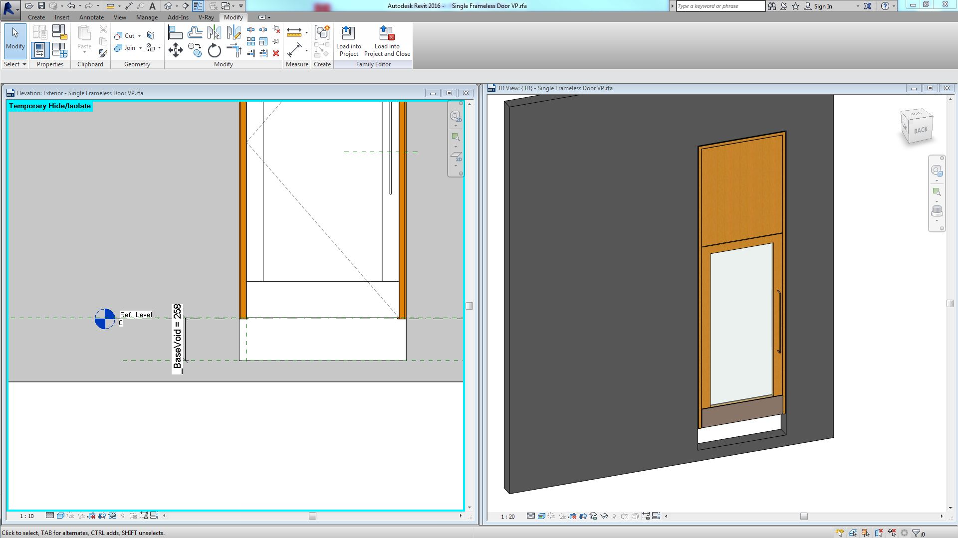 Solved Door Elements modelled below reference level pushing up sill height. - Autodesk Community- Revit Products  sc 1 st  Autodesk forums & Solved: Door Elements modelled below reference level pushing up sill ...