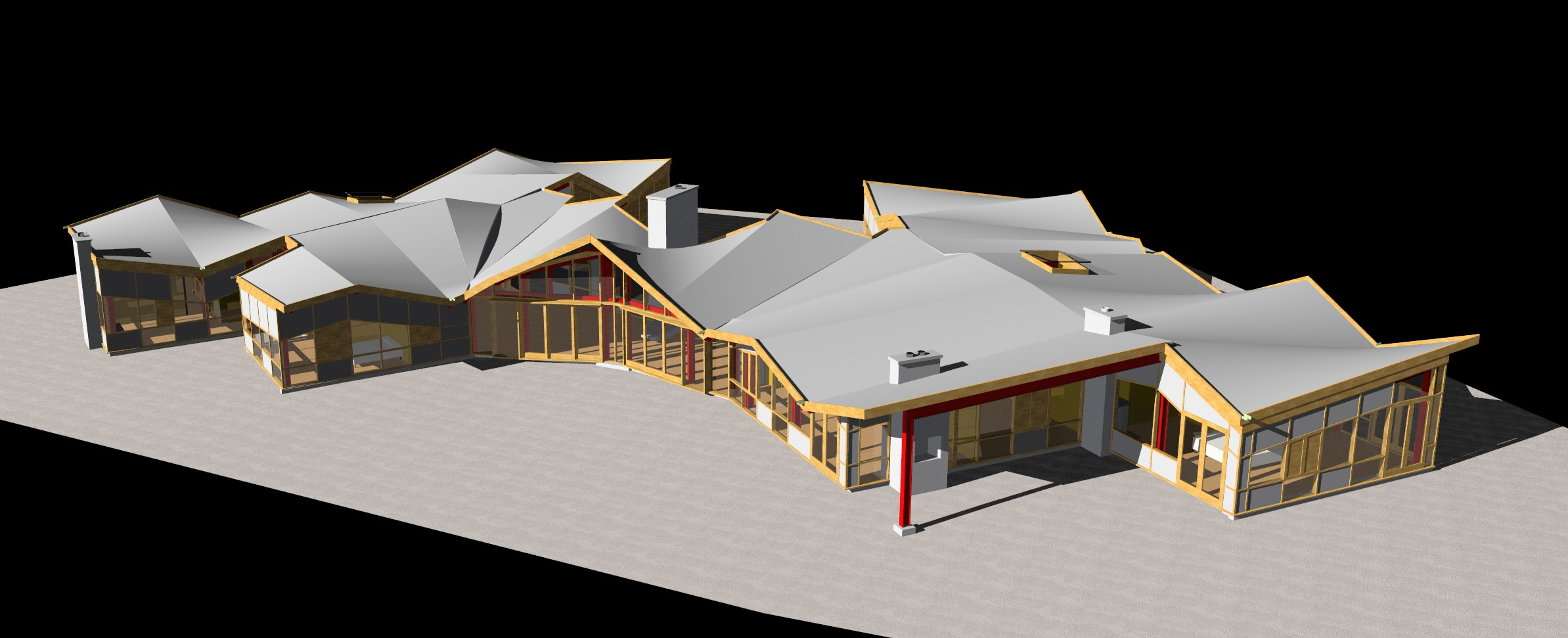 Gable Roof in Revit http://forums.autodesk.com/t5/Autodesk-Revit-Architecture/Is-Revit-ready-for-residential/td-p/1804242