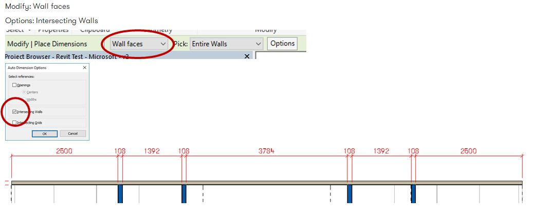 Solved: Automatic aligned dimension tool for Curtain Wall Systems