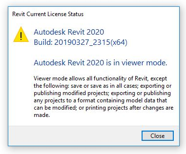 Solved: Revit 2020 in Viewer Mode ? - Autodesk Community