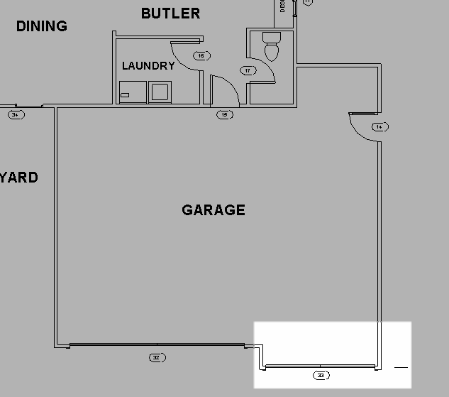 garage door cad