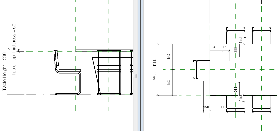 Solved: Display Order Is Not Correct For Table And Chairs   Autodesk  Community  Revit Products
