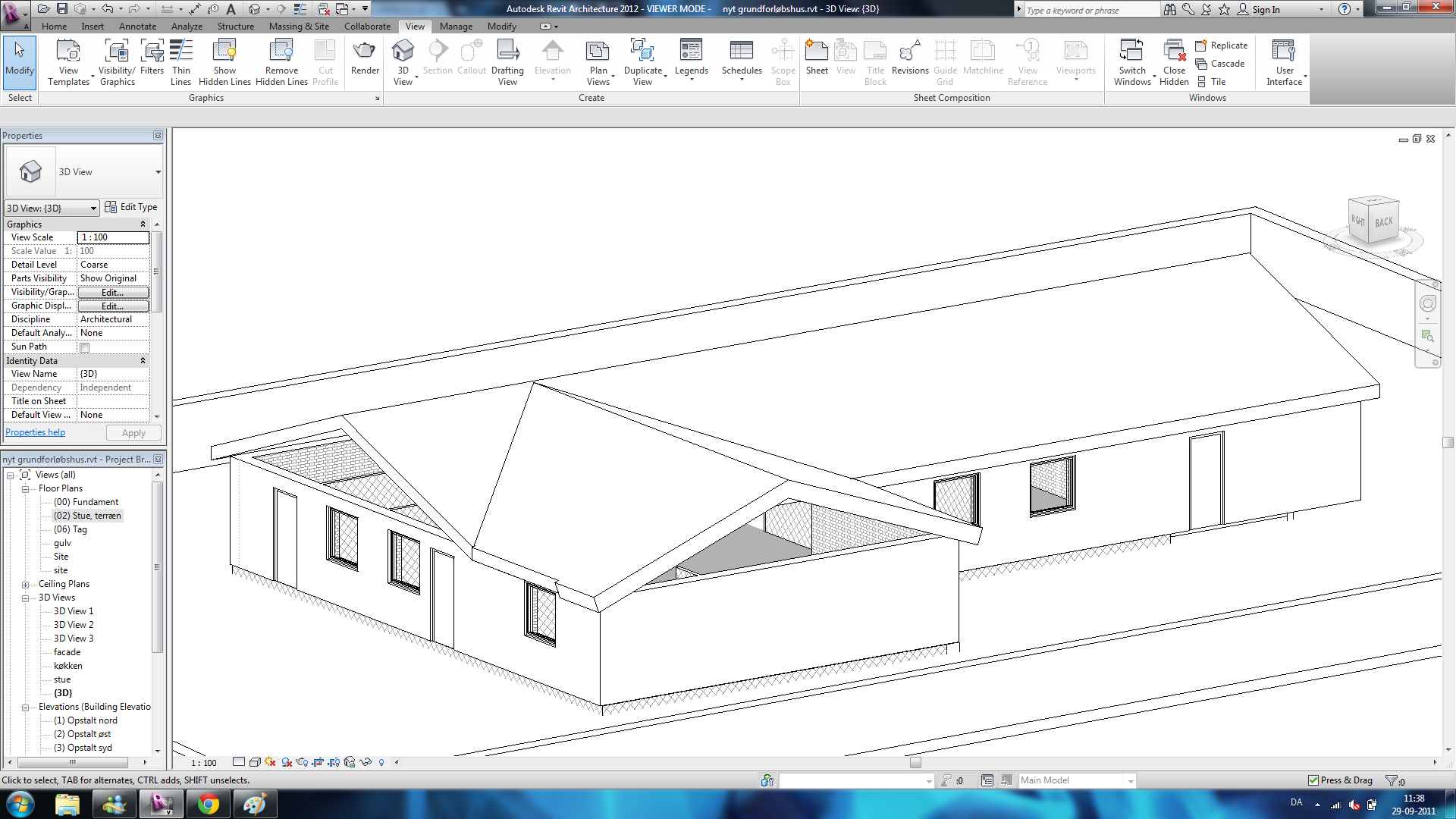 Gable Roof in Revit http://forums.autodesk.com/t5/Autodesk-Revit-Architecture/revit-roof-problem/td-p/3174174