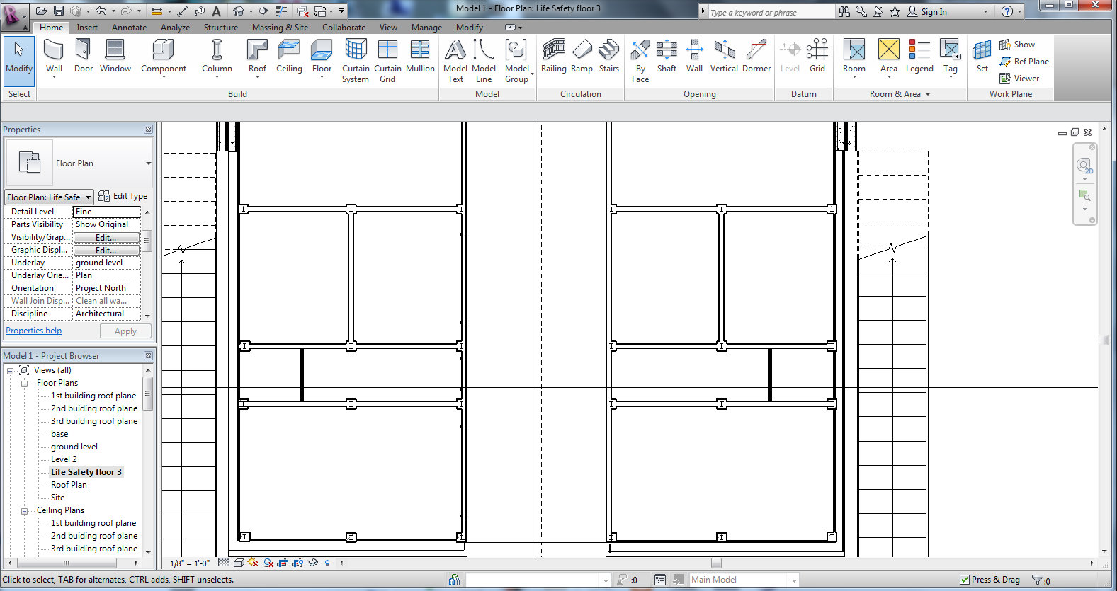 Doors Will Not Show Up In First Floor Plan Of Revit Autodesk Community Revit Products