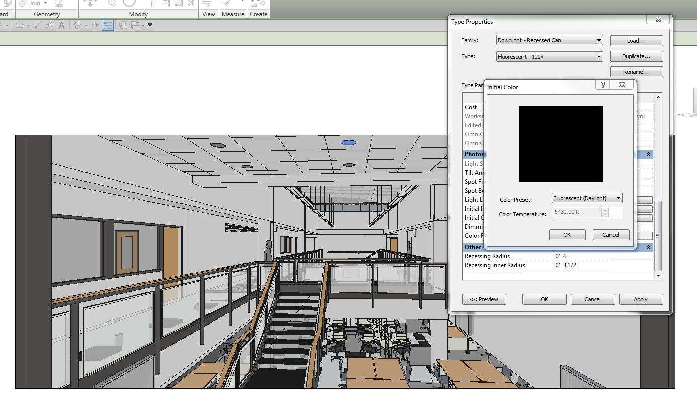 Revit light fixtures not showing lighting designs solved how to turn recessed can lights on autodesk community arubaitofo Gallery