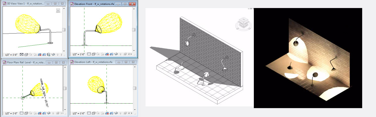 Rotate Lighting Fixture - Autodesk Discussion Groups