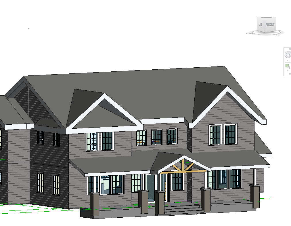 Gable Roof in Revit http://forums.autodesk.com/t5/Autodesk-Revit-Architecture/Join-Roof-extrusion-to-roof-by-footprint/td-p/3304697