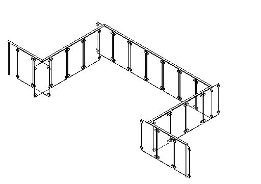 Revit glass railing family download
