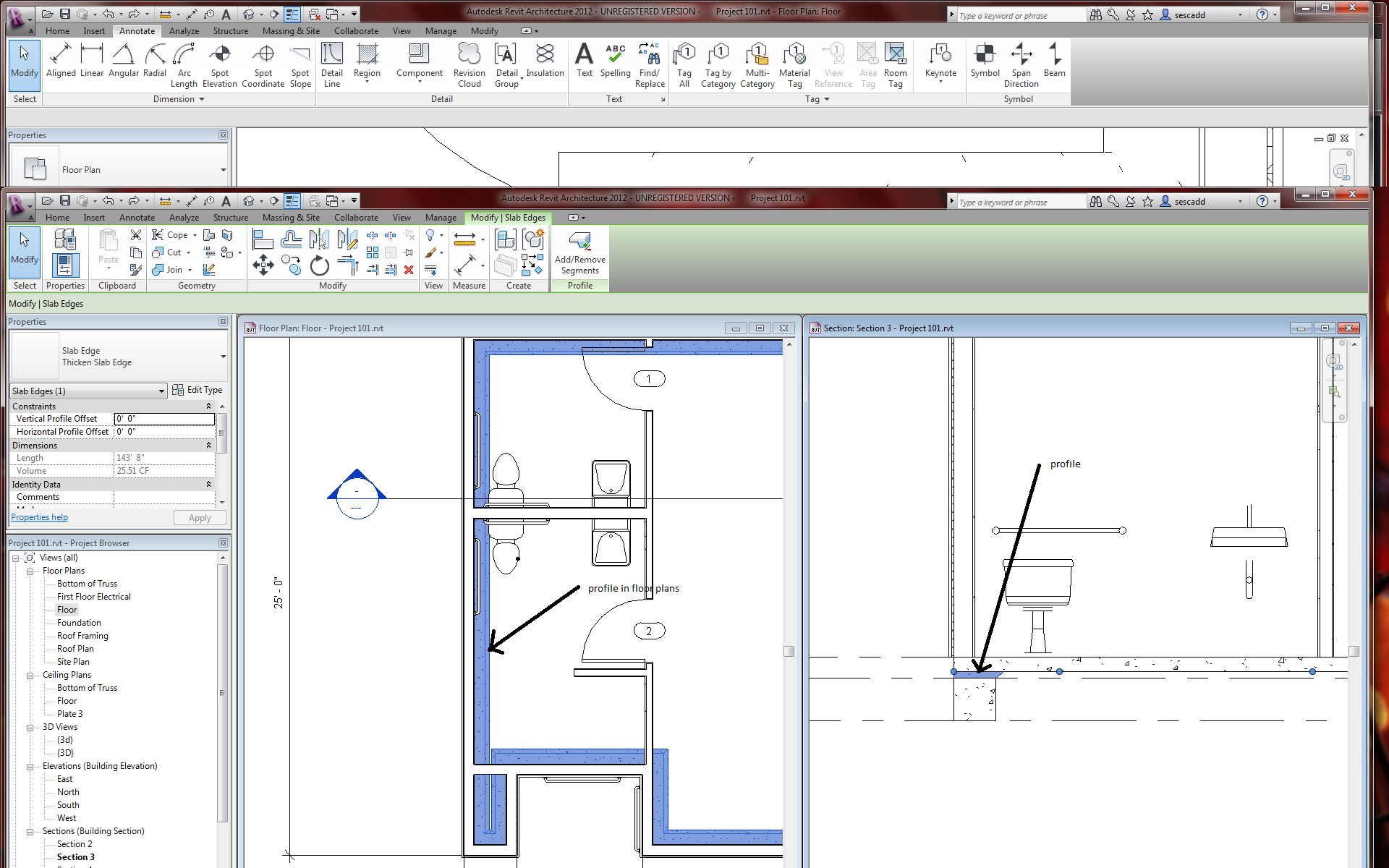 Floor Plan Foundation Autodesk Community Revit Products