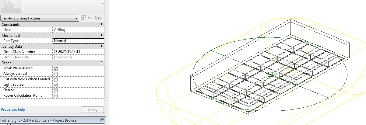 Solved Revit Family Light On Sloped Ceiling Autodesk Community S