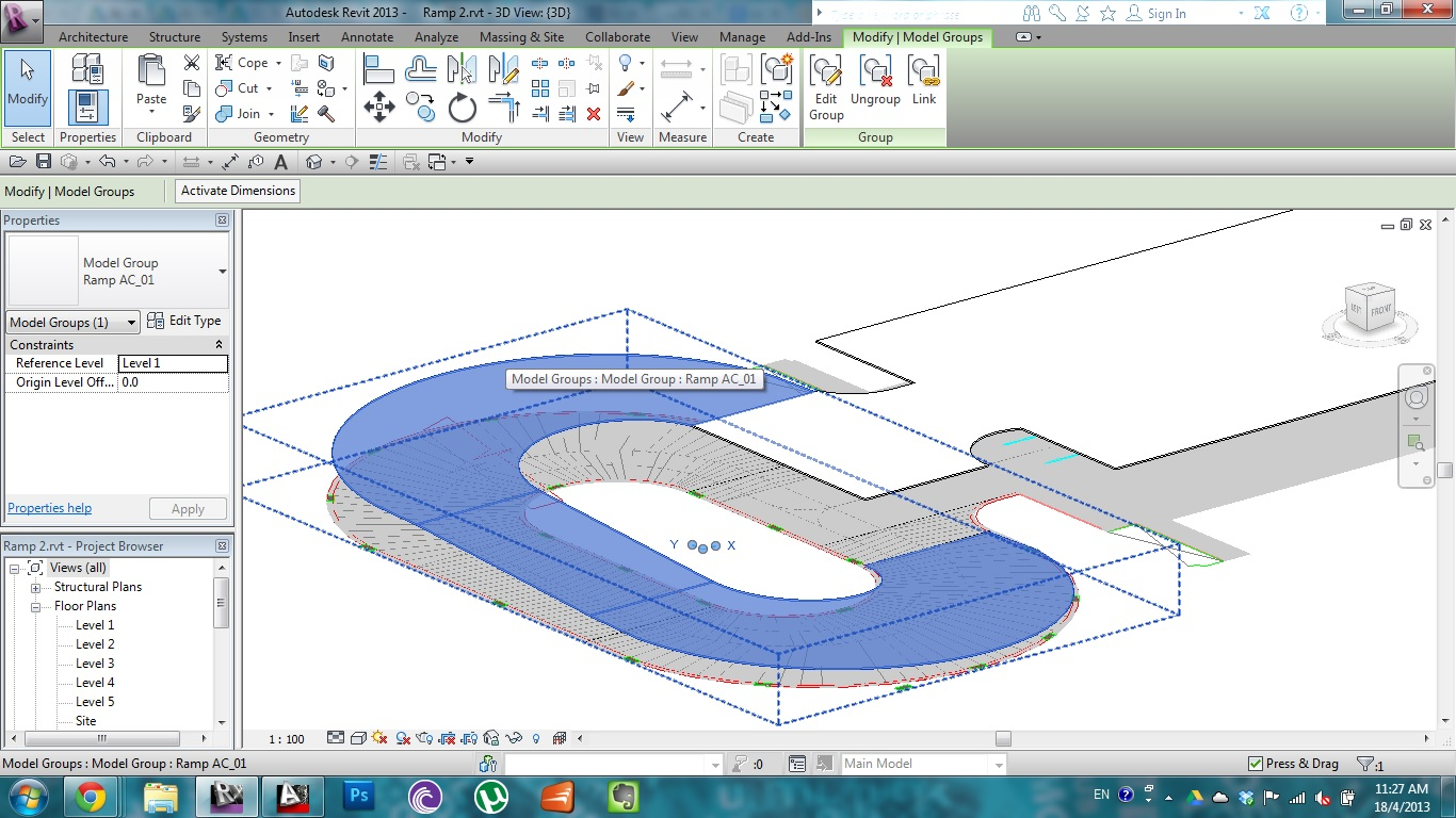 Solved: Curved Ramps - Autodesk Community- Revit Products
