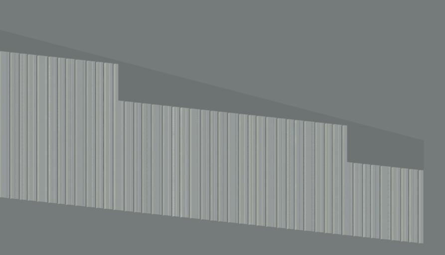 Metal Panels For Walls corrugated metal panels - autodesk community