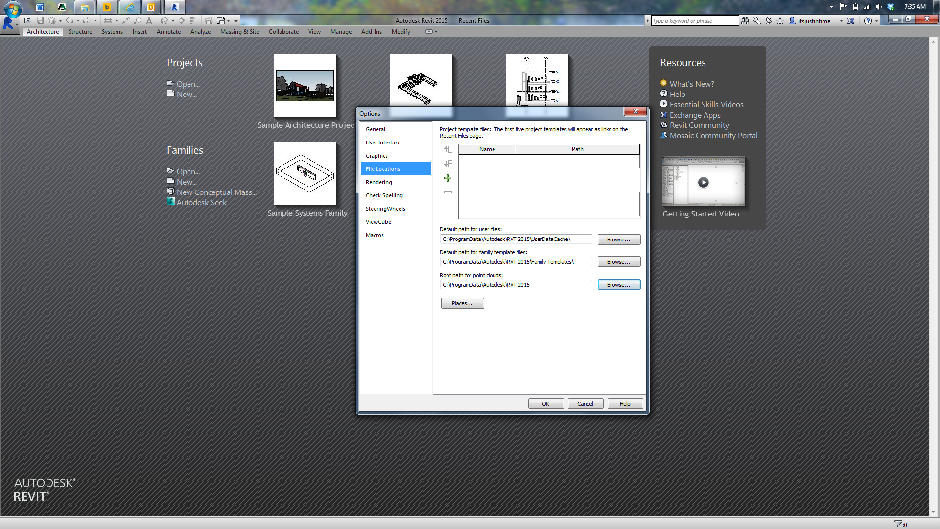 Revit 2015 family template file location page 3 autodesk community pronofoot35fo Image collections