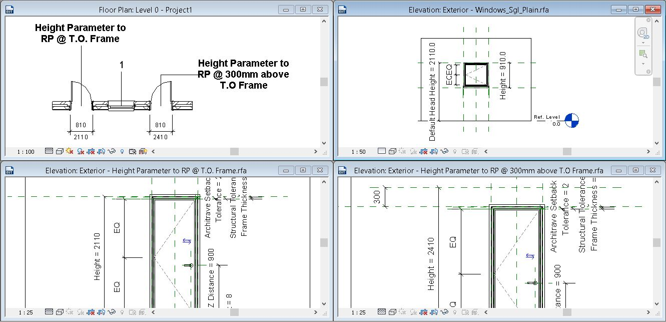 sc 1 st  Autodesk forums & show opeing height - Autodesk Community- Revit Products