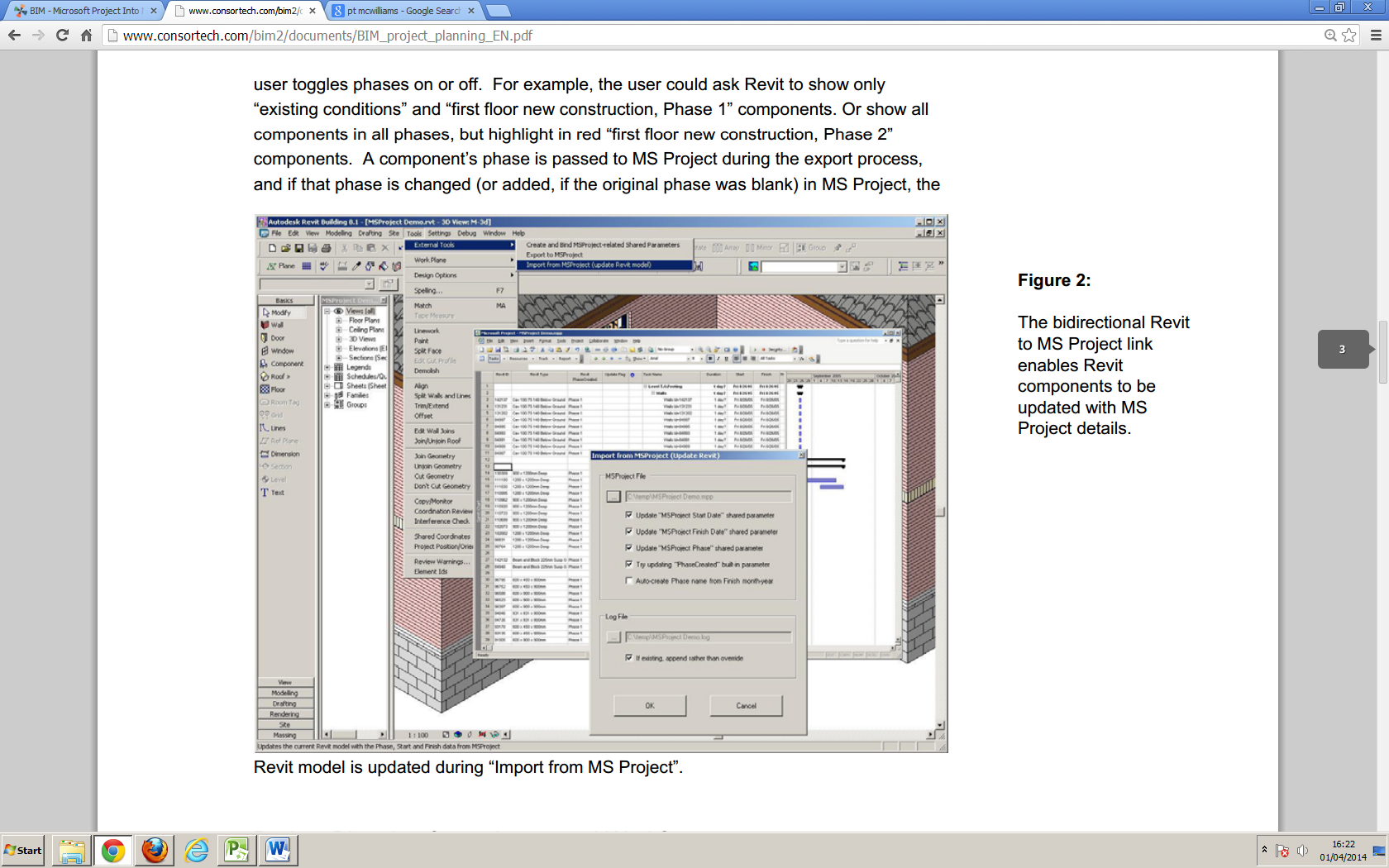 Solved: Linking Revit 2014 with MS Project - Autodesk