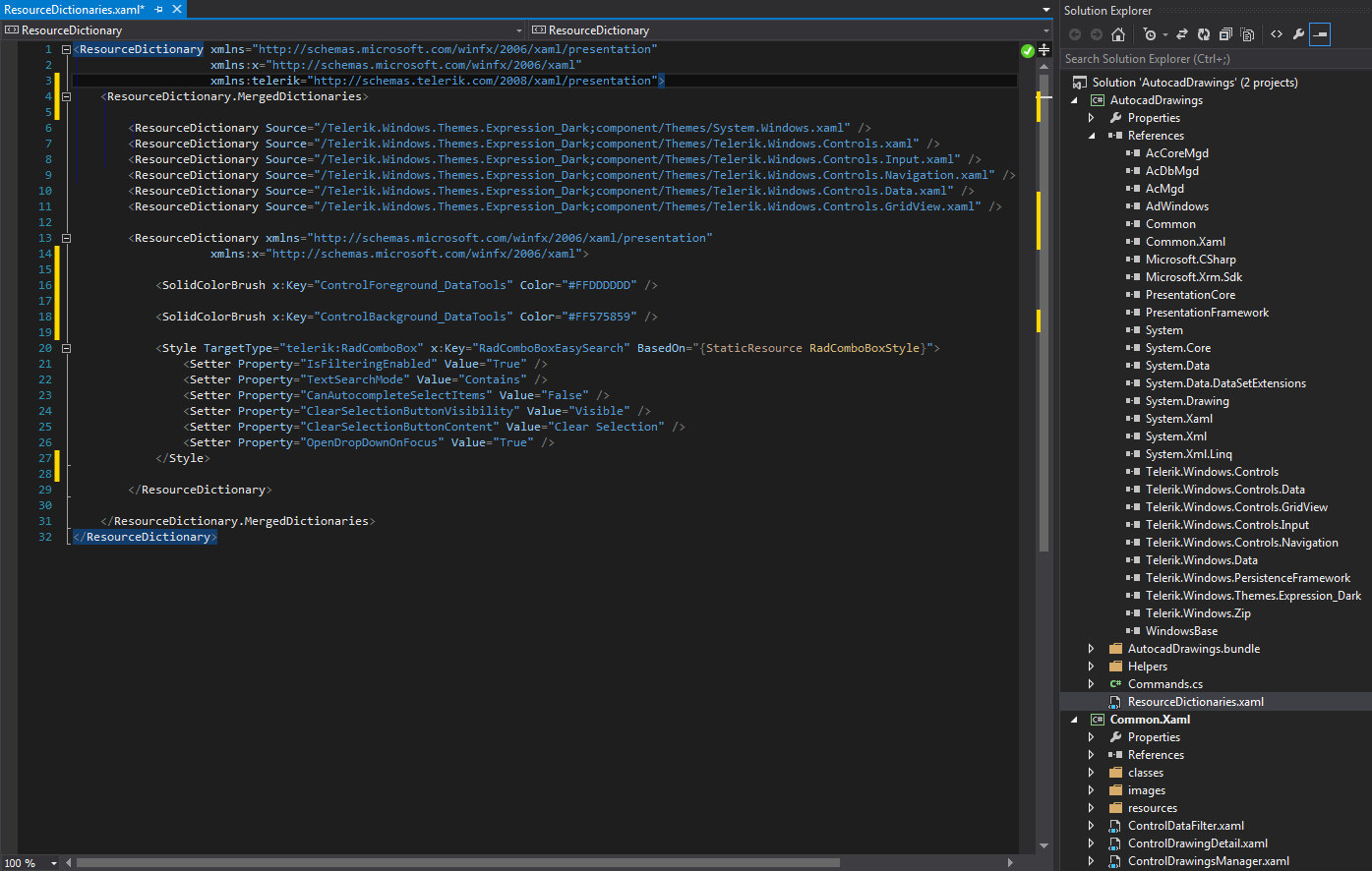 Solved: Autoloader WPF UserControl Library with