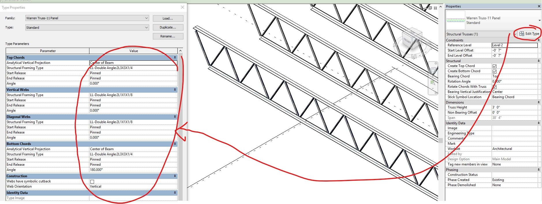 Solved: Truss not showing up in 3D - Autodesk Community