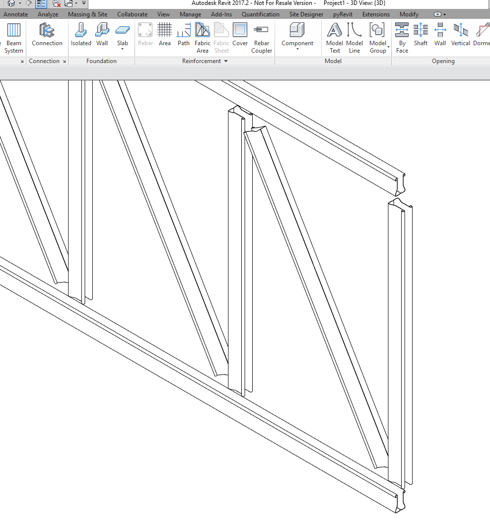 Truss Member- Custom Member not showing- error
