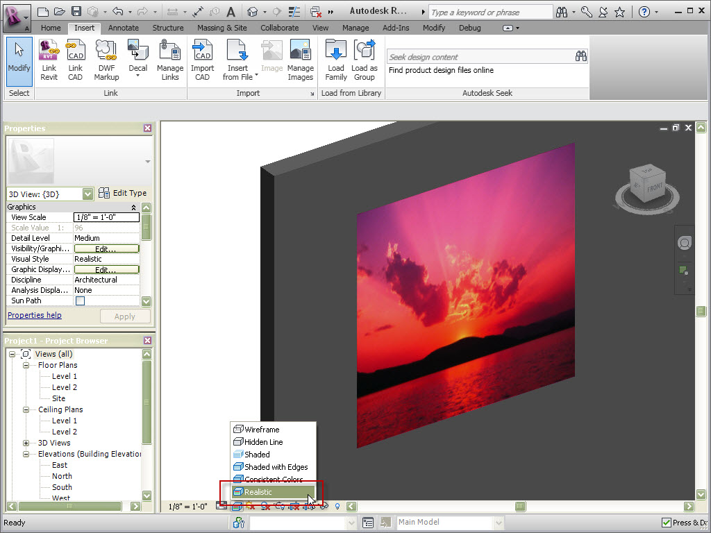 How To Get An Image To Show In D View Autodesk Community - Decal graphics software