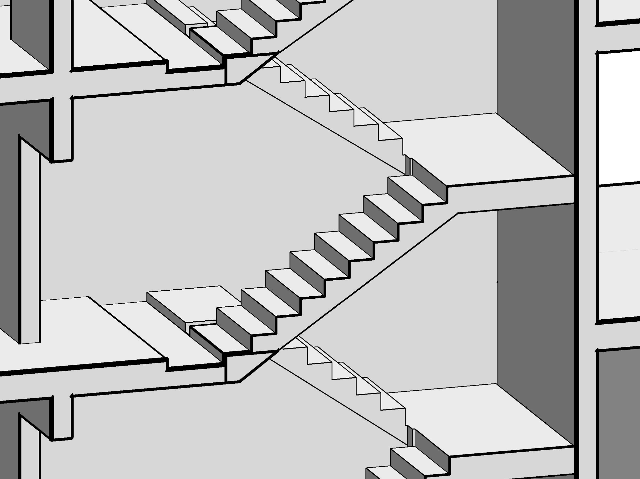 Monolithic Precast Concrete Staircase Autodesk Munity Revit