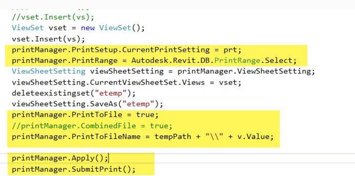 print to PDF using C# Revit API - Autodesk Community- Revit Products