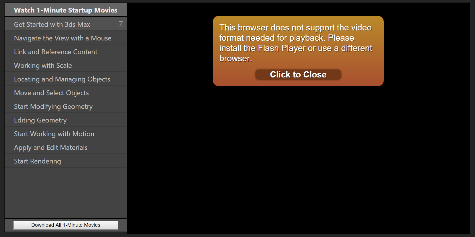 Replace Flash Movies with HTML5 - Autodesk Community