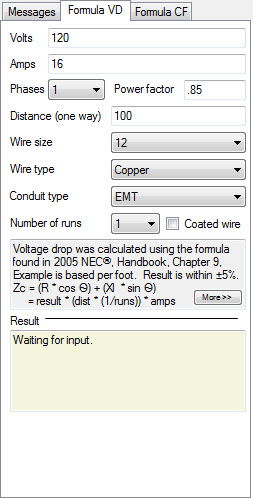 Voltage drop and wire sizing autodesk community revit products greentooth Image collections