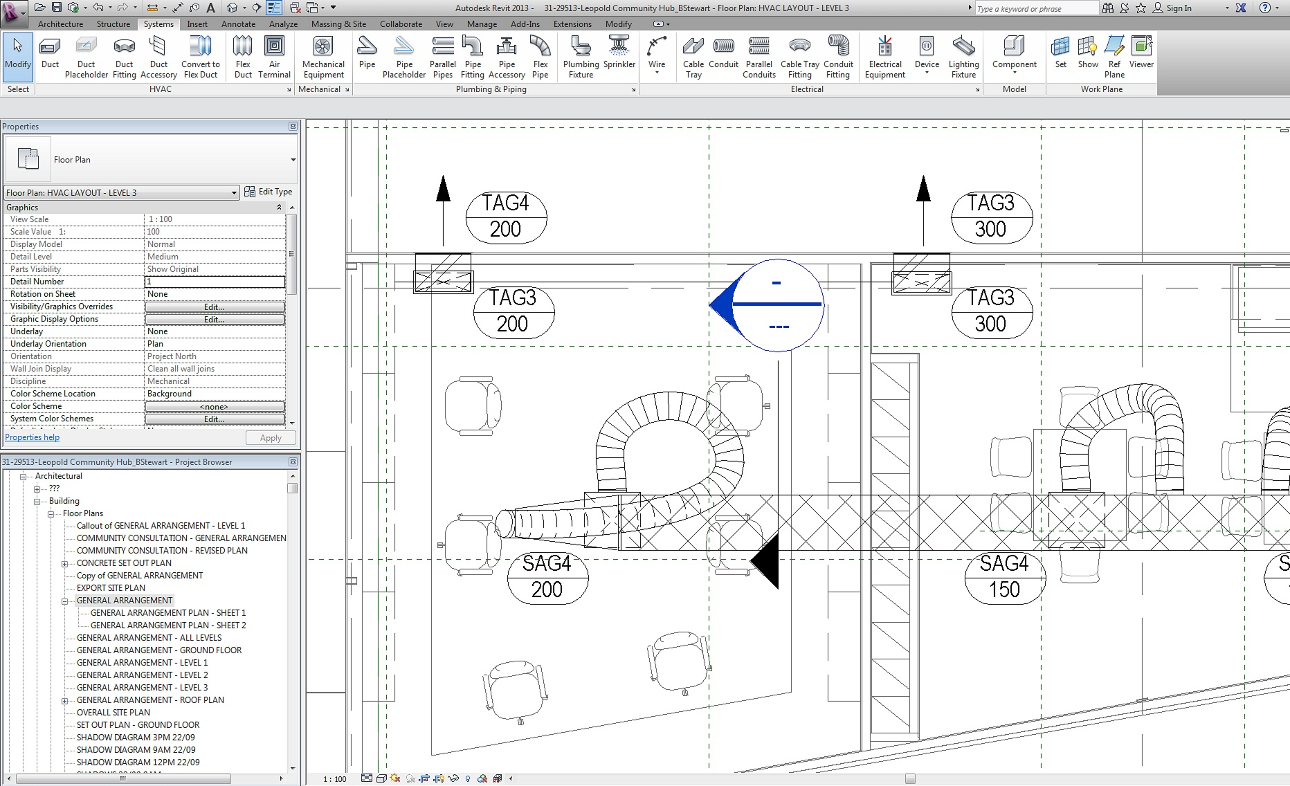 Flexible Duct Connection Onto Side Of Not The End Autodesk Hvac Drawing Community Revit Products