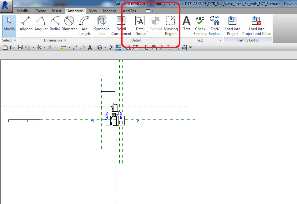 Single Line Valve Symbol Size And Masking Pipe Ends Autodesk