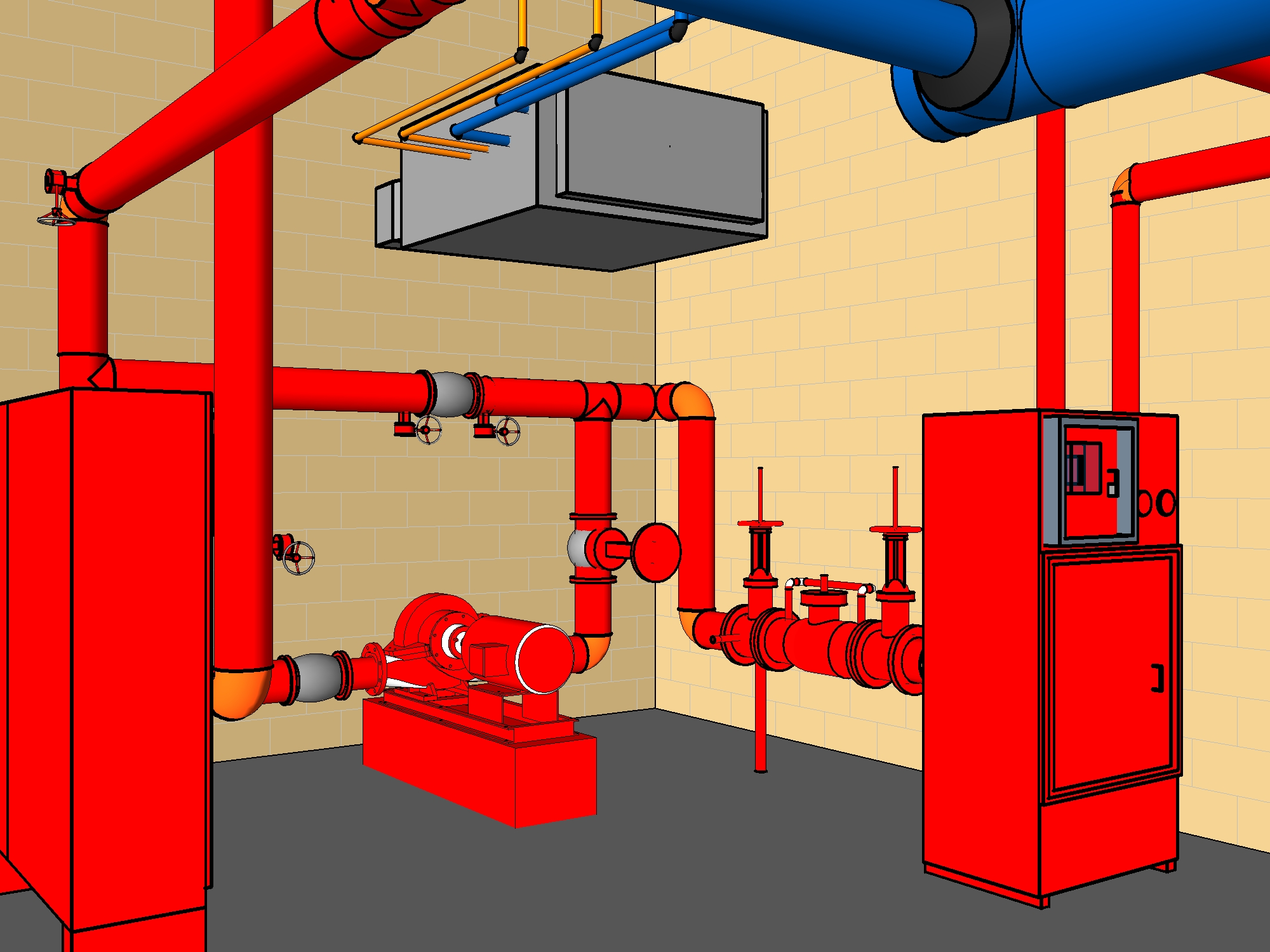Designing Fire Sprinklers?? - Autodesk Community- Revit Products
