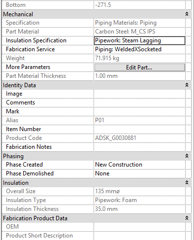 Pipe Insulation properties - Autodesk Community- Revit Products