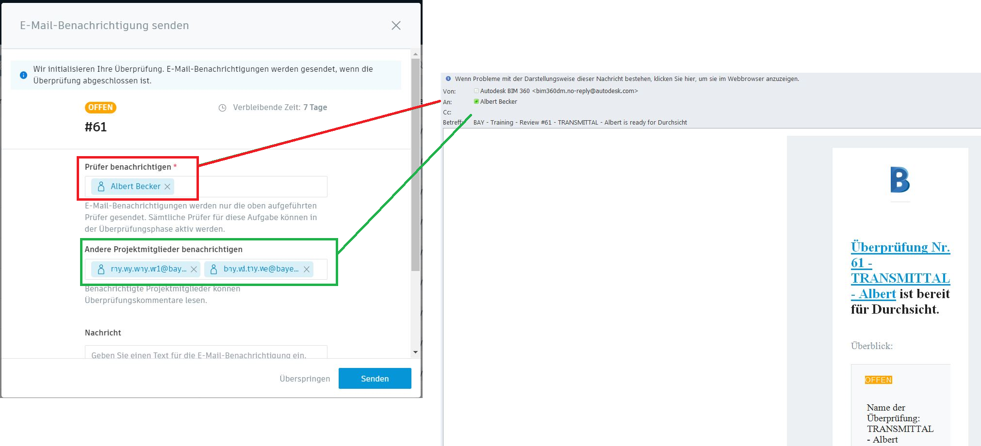 Email Notifications do not show all recipients - Autodesk