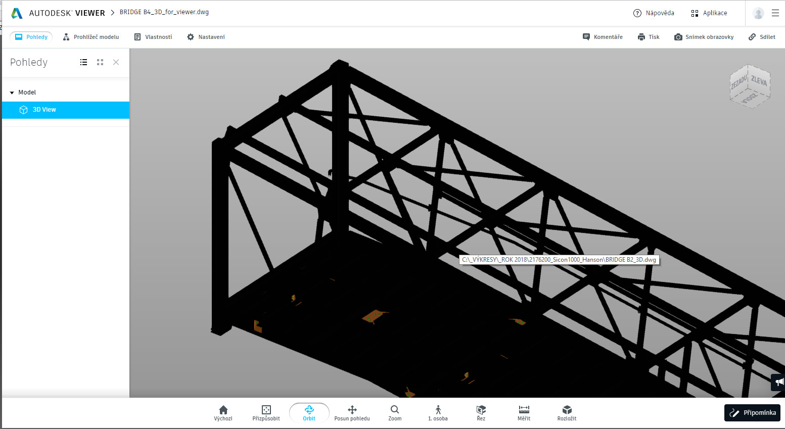 Solved: 3D-Model in online viewer is black shaded (whitout