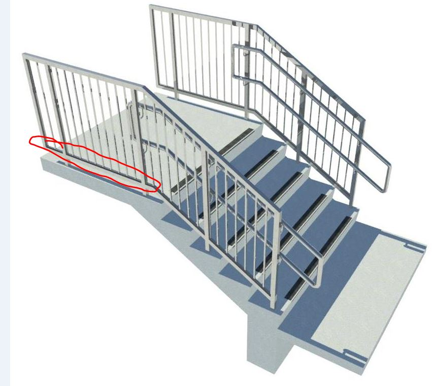 Solved: Stair Rails , Pickets and added parts help - Autodesk