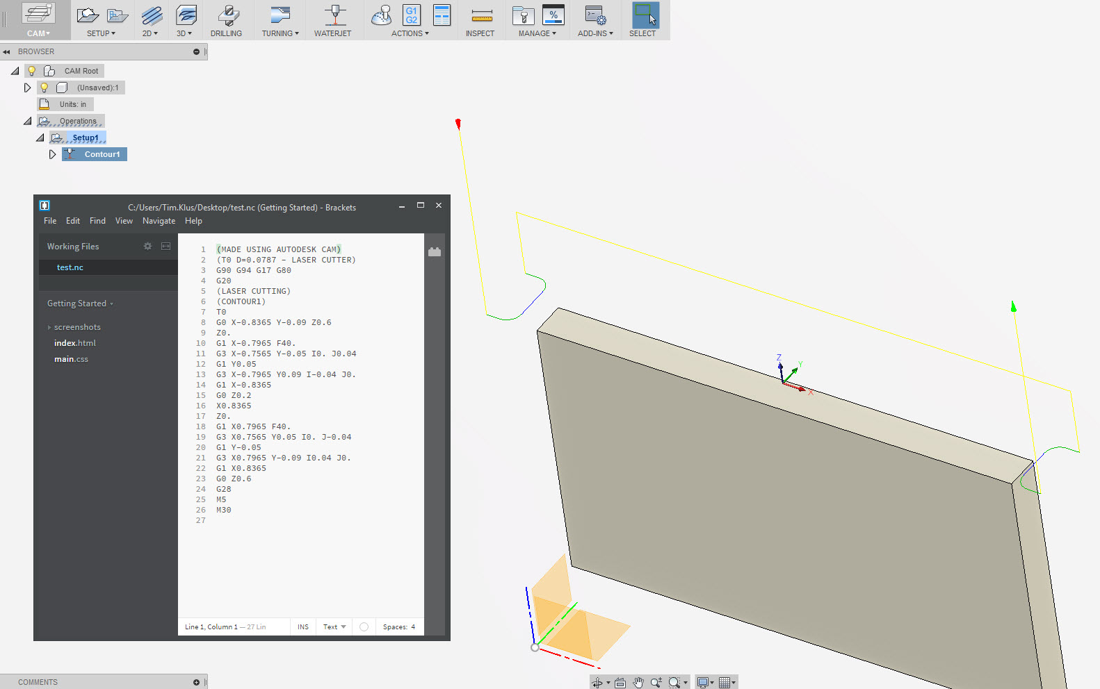 Solved: GRBL laser cutter power settings with pwm - Autodesk