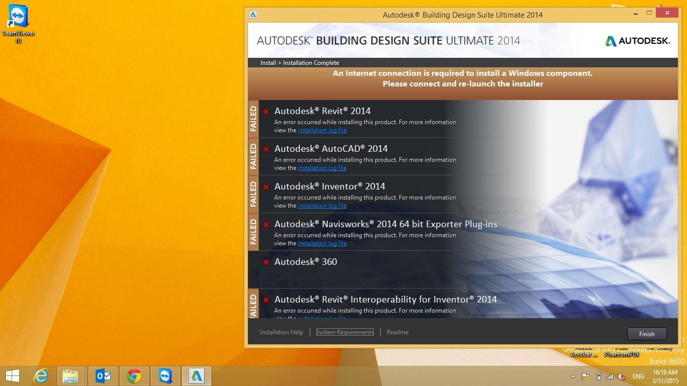 Installation Problem Building Design Suite Ultimate 2014 Autodesk Community Subscription Installation And Licensing